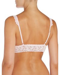 Hanky Panky | Pink Signature Lace Bralette | Lyst