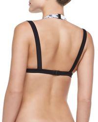 Suboo - Blue Double-strap Swim Top - Lyst
