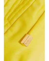 ViX - Yellow Halterneck Bikini Top - Lyst