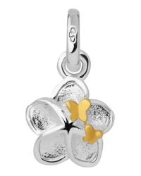 Links of London | Metallic Mini Flower And Butterfly Charm | Lyst