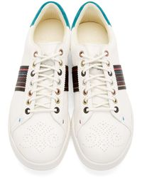 Paul Smith | White Osmo Leather Low-Top Sneakers for Men | Lyst