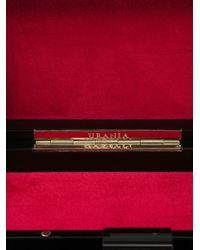 Urania Gazelli - Black 'Taurus' Box Clutch - Lyst