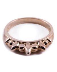 Pamela Love   Pink 'Thin Tribal Spike' Ring   Lyst