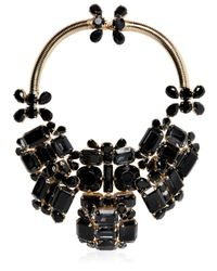 DSquared² | Black Swarovski Crystals Necklace | Lyst