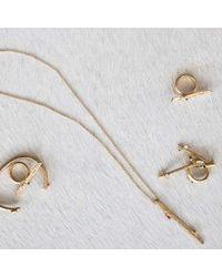 Kelly Wearstler   Metallic Faxon Earring   Lyst
