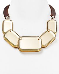 Lafayette 148 New York - Natural Geometric Necklace 165 - Lyst