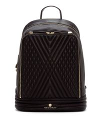 Vince Camuto | Black Rizo Quilted Leather Backpack | Lyst