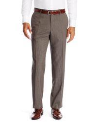 BOSS - Brown 'jeffery' | Comfort Fit, Virgin Wool Dress Pants for Men - Lyst