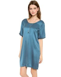 Won Hundred - Blue Lilly Summer Dress - Lyst