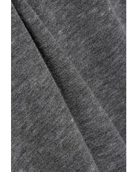 American Vintage - Gray Leophile Devoré Cotton-blend Sweatshirt - Lyst