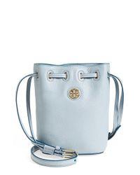 Tory Burch - Blue 'mini Brody' Crossbody Bucket Bag - Lyst