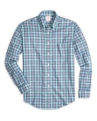 Brooks Brothers | Green Non-iron Madison Fit Tonal Plaid Sport Shirt for Men | Lyst