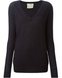 Forte Forte | Blue Fine-Knit Cashmere Sweater | Lyst