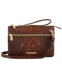 Brahmin | Brown Melbourne Jillian Crossbody | Lyst