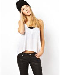Cheap Monday - White Swing Vest - Lyst