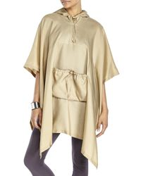 Nina Ricci - Natural Hooded Cape - Lyst
