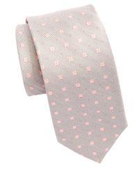 Michael Kors | Pink Woven Dot Tie for Men | Lyst