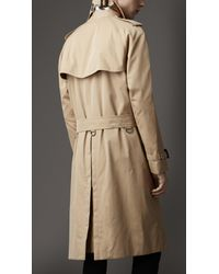 Burberry | Natural Heritage Double Breasted Raglan Trench Coat for Men | Lyst
