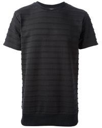 Soulland - Black 'Neptune' T-Shirt for Men - Lyst