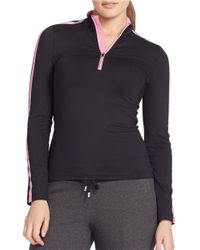 Lauren by Ralph Lauren | Black Plus Performance Jersey Pullover | Lyst