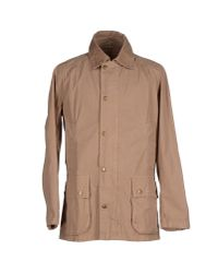 Barbour - Natural Jacket for Men - Lyst