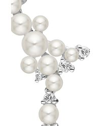 Paul Morelli - White Lagrange Pearl Trellis Earrings - Lyst