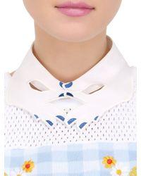 Vivetta | White Organza Hands Collar | Lyst