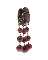 Iradj Moini | Red Ruby And Citrine Drop Earrings | Lyst