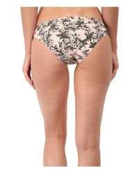 Stella McCartney | Pink Stella Smooth Print Brief Bikini | Lyst