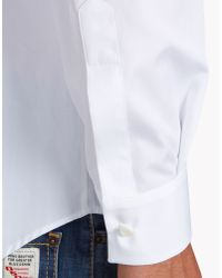 DSquared² | White Blue Hibiscus Relax Dan Shirt for Men | Lyst