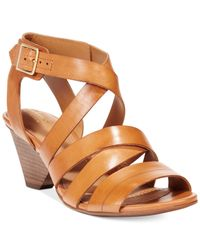 Clarks | Brown Artisan Women's Ranae Estelle Dress Sandals | Lyst