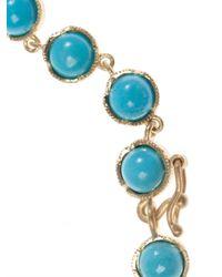 Irene Neuwirth - Blue Turquoise & Yellow-Gold Bracelet - Lyst