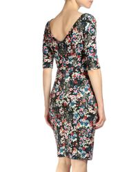 Erdem - Multicolor Kirstin Floral-print Sheath Dress - Lyst