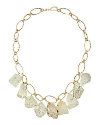 Panacea - White Howlite Chain Necklace - Lyst