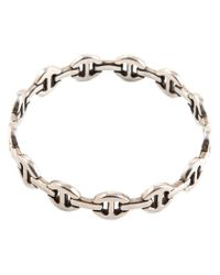 Hoorsenbuhs - Metallic Bridal Link Bracelet - Lyst