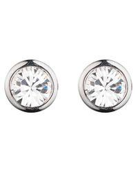 Dyrberg/Kern | Metallic Dyrberg/kern Thelma Small Swarovski Crystal Stud Earrings | Lyst