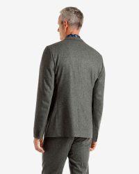 Ted Baker | Gray Wool-blend Jacket for Men | Lyst