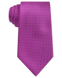 Ike Behar | Pink Perfect Link Tie for Men | Lyst