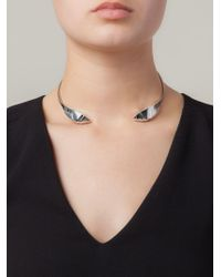 Lara Bohinc | Metallic 'fauna' Choker Necklace | Lyst