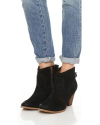 Splendid - Black Rebekah Suede Booties - Lyst