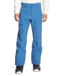 The North Face | Blue 'frederick' Waterproof Straight Leg Pants for Men | Lyst