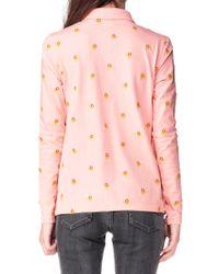 Manoush - Pink Long Sleeve Top - Lyst