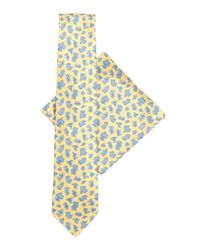 Stefano Ricci - Multicolor Silk Tie & Pocket Square Set for Men - Lyst