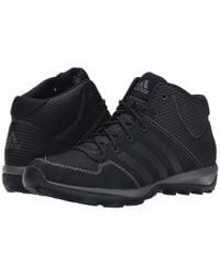 Adidas | Black Daroga Plus Mid Leather for Men | Lyst