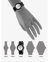 Gucci - Black U-play Interchangeable Lizard Watch for Men - Lyst