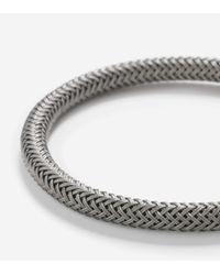 Cole Haan | Metallic Ip Mesh Bracelet for Men | Lyst