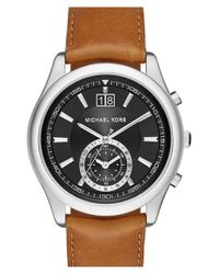 MICHAEL Michael Kors - Metallic Michael Kors 'aiden' Chronograph Watch for Men - Lyst