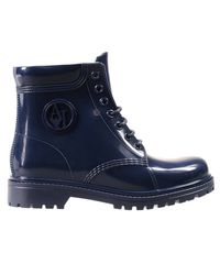 Armani Jeans - Blue Boots Shoes Woman - Lyst