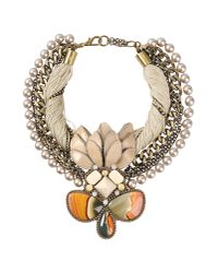 Beavaldes - Natural Necklace - Lyst
