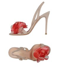 Gianvito Rossi - Natural Sandals - Lyst